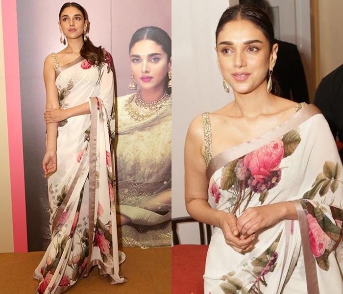 Floral-designer-sarees