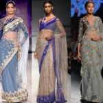 The Ultimate Latest Blouse Designs To Try With Net Sarees!