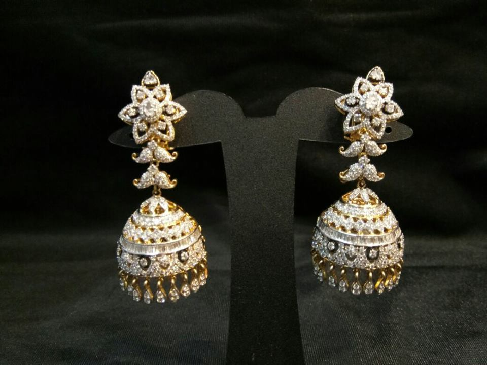 Latest Diamond Earrings Designs