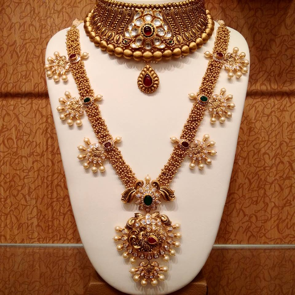 Latest Gold Jewellery Designs For Weddings