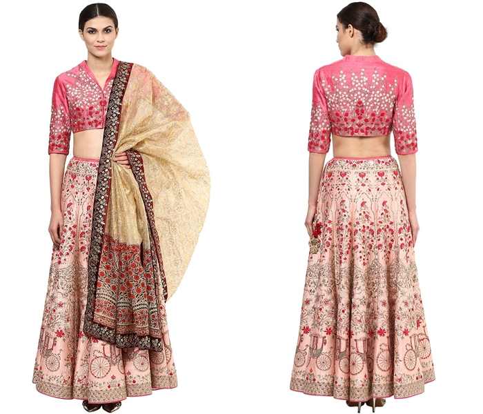 Lehenga Blouse Designs For Bridal