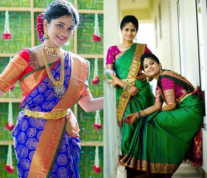 23 Trending Pattu Saree Color Combinations Of This Season