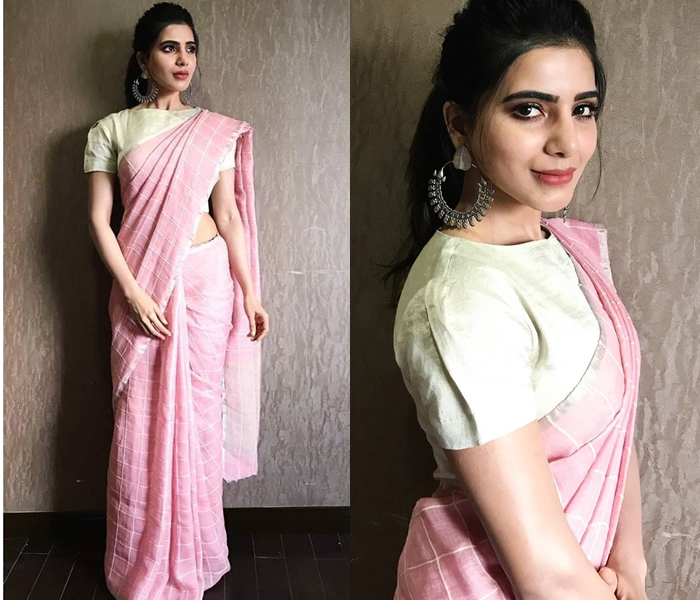 2f538d45639883 By seeing the pictures, you can pretty much gauge, how her saree style has  evolved over the period of years.