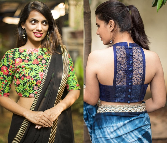 92e69494f8a Pairing it up with a plain saree or with the one that wouldn t take the  focus away from this design would be the ideal choice.