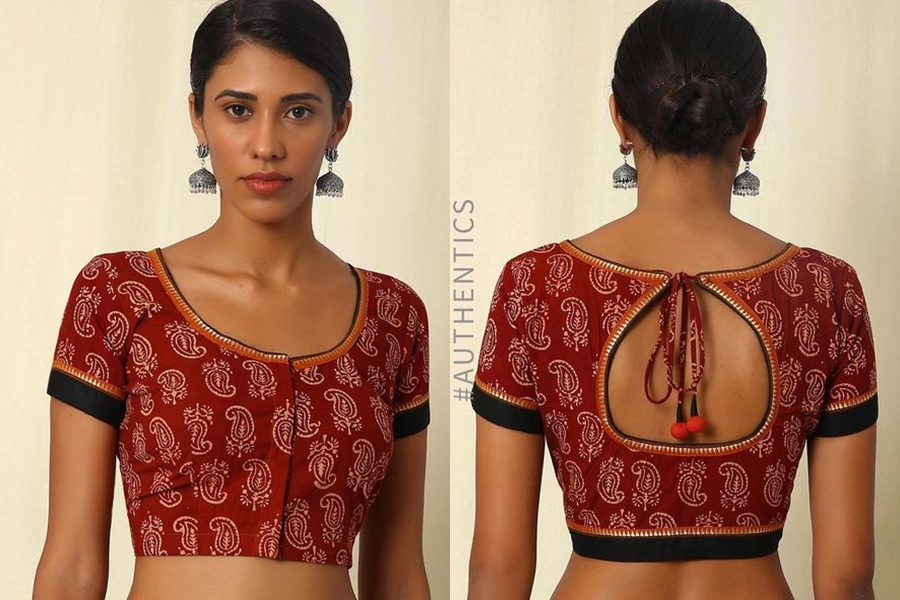 10 must try simple saree blouse front and back designs keep me