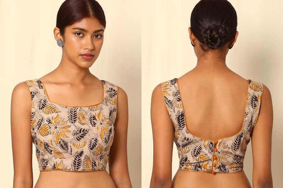 b35892eebe023e 10 Must Try Simple Saree Blouse (Front and Back) Designs • Keep Me ...