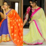 Get Creative with Your Two Color (aka Double Color) Sarees!