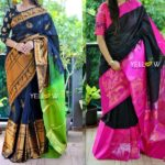 You're Not Wearing Black Silk Sarees Like These