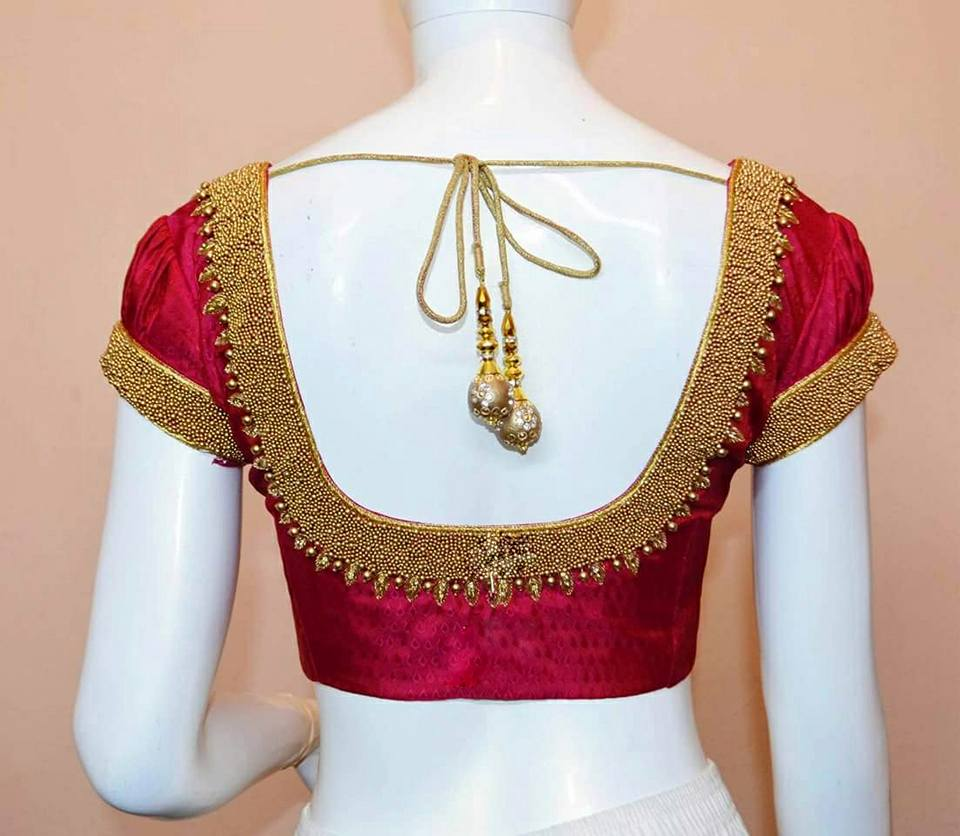 Take Iconic Silk Saree Blouse Inspirations From This Label Keep