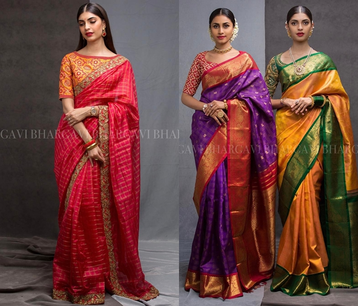 How to wear silk sarees beautifully