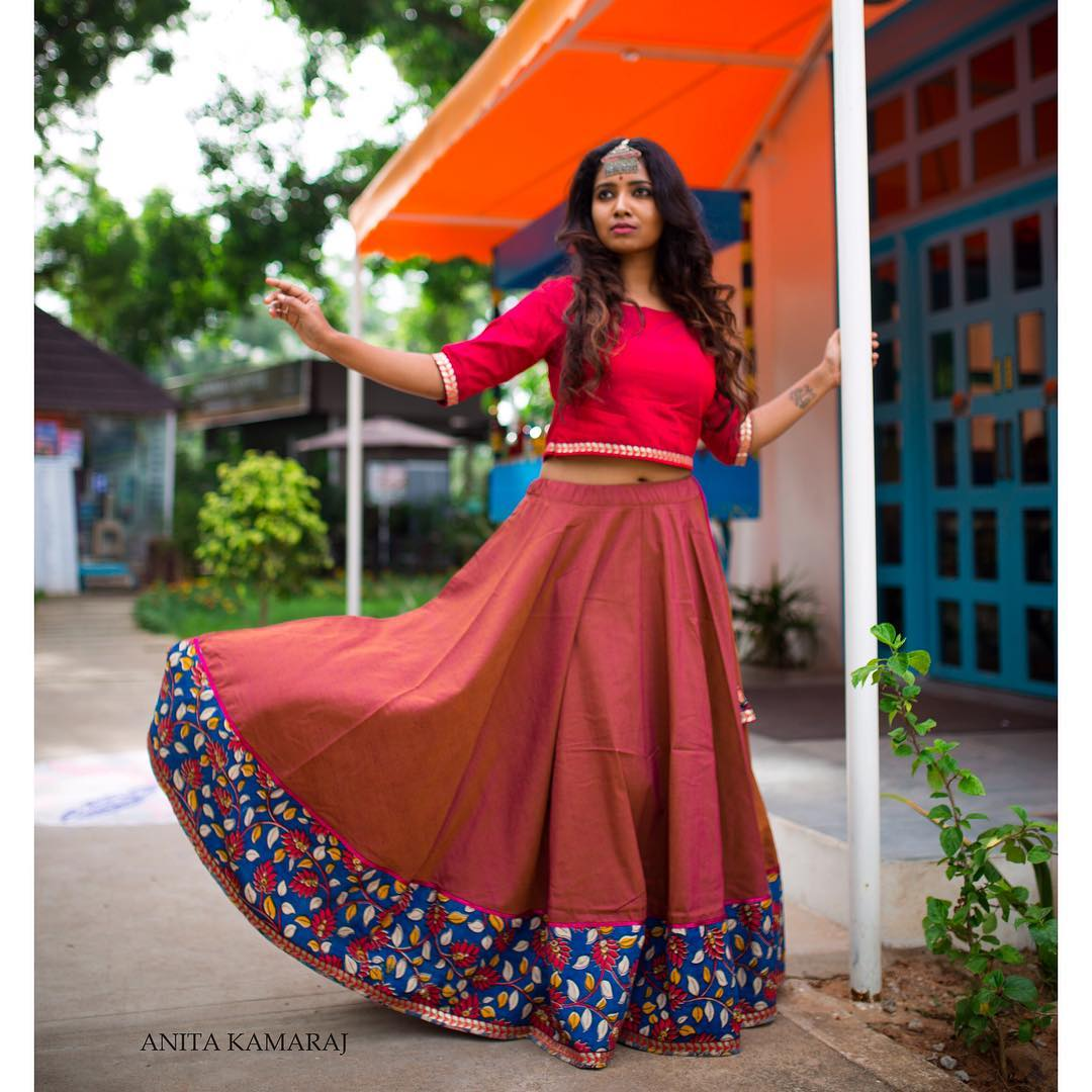 Indian Ethnic Skirt Designs