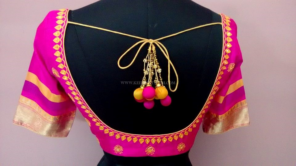 Latest Maggam Work Blouse Designs