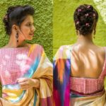 20+ Coolest Mirror Work Saree Blouse Designs You Need To See