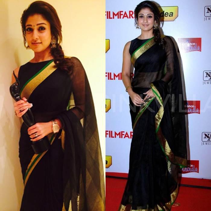 Celebrity Saree Style