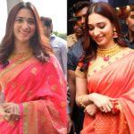 Tamannaah's Saree Looks Are Prefect Alternative to Try This Diwali