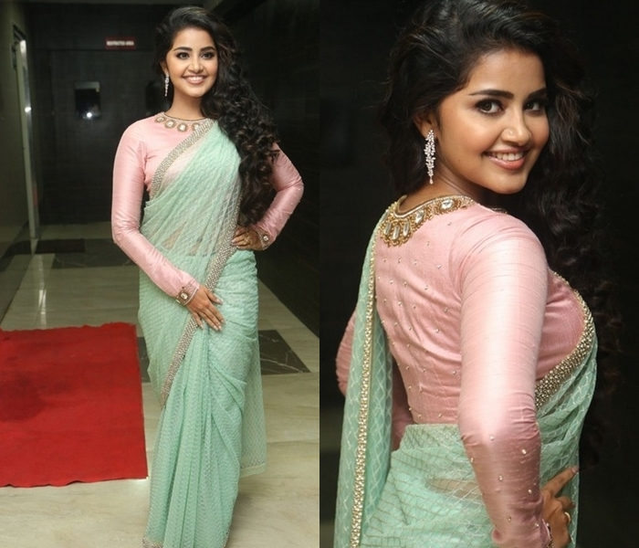 Anupama Parameshwar Saree Style