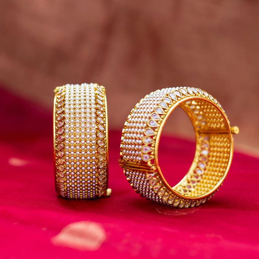 bangle designs for sarees