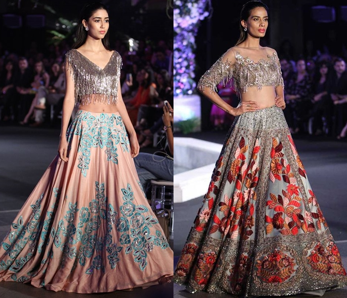 Lehenga Blouse Designs By Manish Malhotra