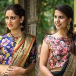 10 Cool Printed Blouses to Wear With Plain Sarees
