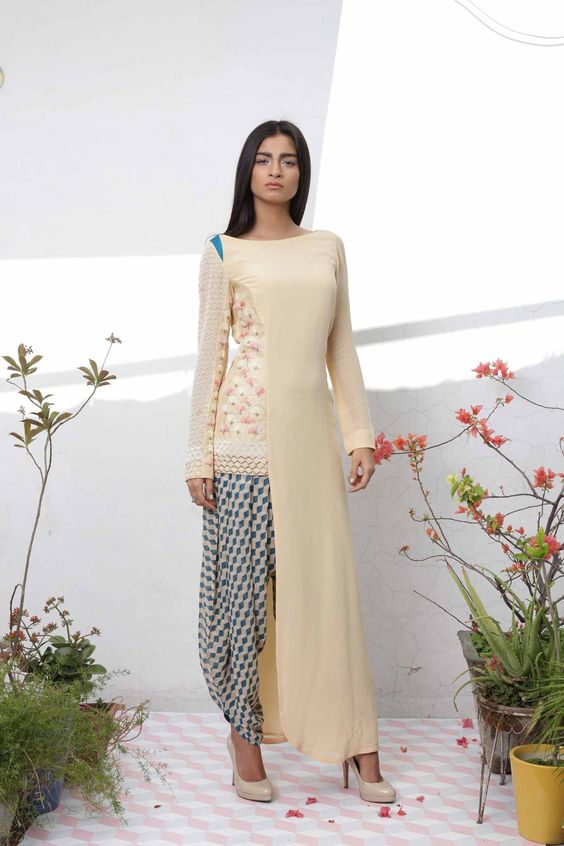Tops for Dhoti Pants
