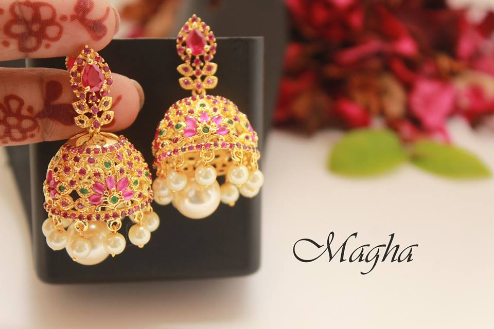 Buy Traditional Jhumkas Online