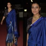 This Blouse Choice For Blue Saree Will Surprise You!