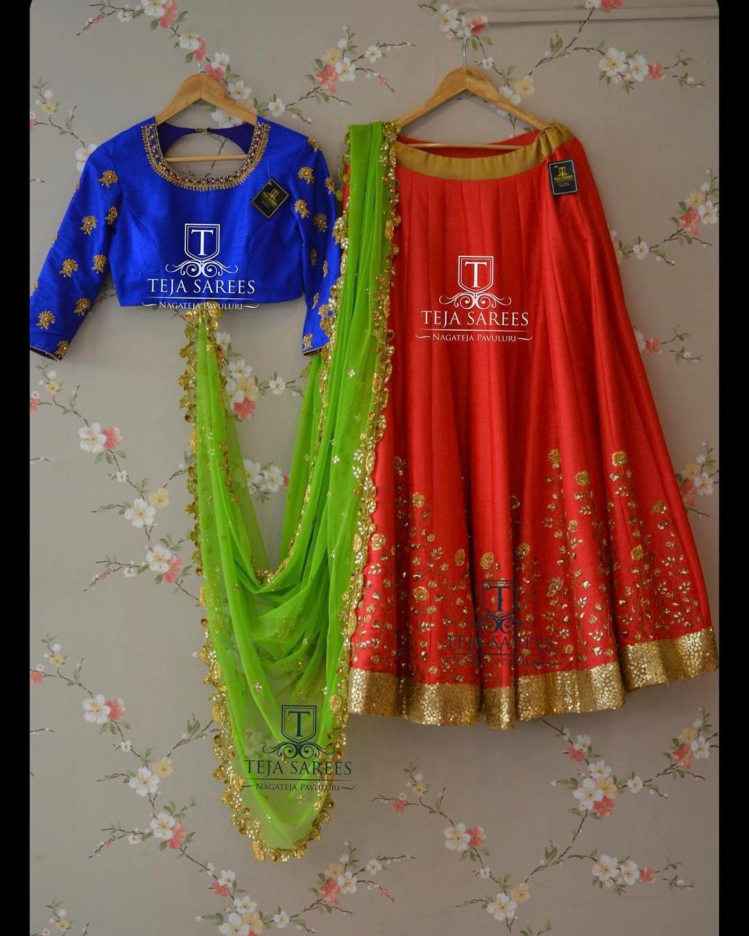 Half Saree Blouse Designs