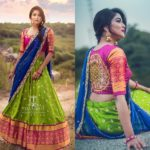 Your Official Guide to Find Best Half Saree Blouse Designs