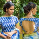 Pretty Ikat Blouse Designs You Can Shop Now