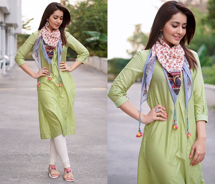 Kurtha and Kurti With Scarf