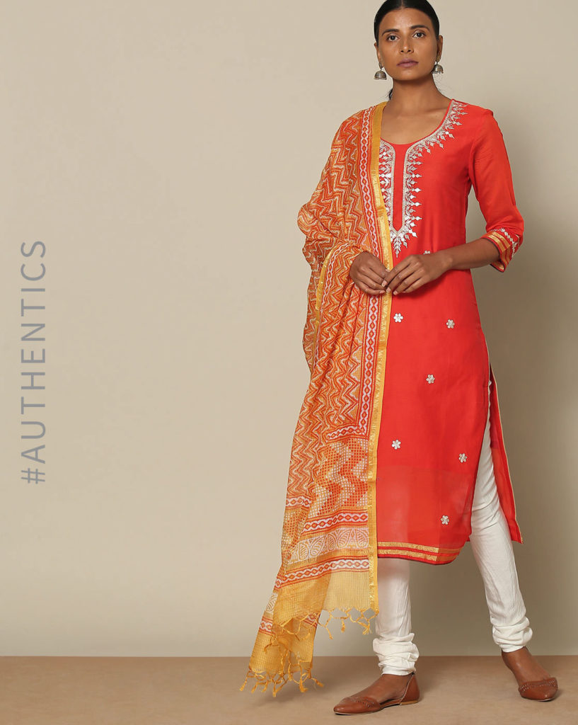 Plain Churidhar Color Combinations