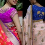 25+ Epic Party Wear Saree Blouse Designs