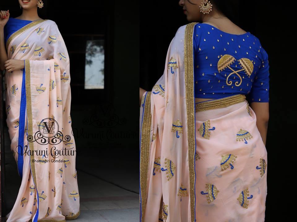 Party Wear Saree Blouse Designs