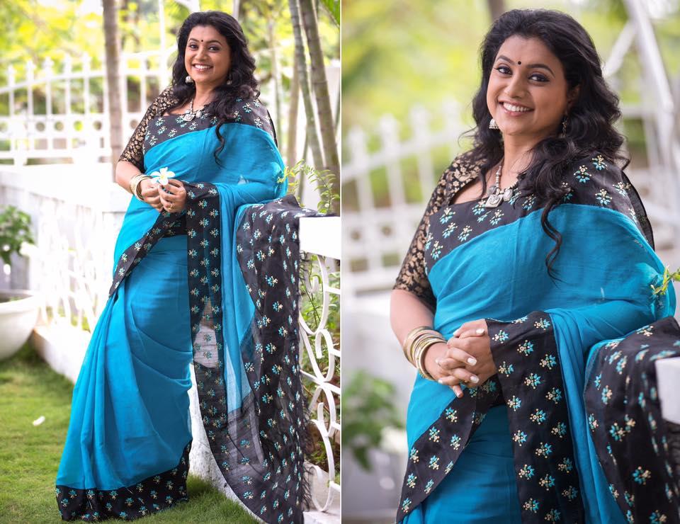 Roja Saree Style