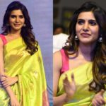 Samantha's Simple Saree Style is Both Cute & Trendy