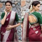 She Designs & Also Shows How to Dress Up In Sarees