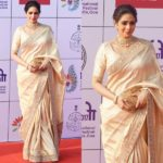 Sridevi Nailed This Head-to-Toe Gold Saree Look