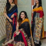 How To Wear a Kalamkari Blouse with 5 Different Sarees?