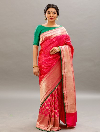 Designer Sarees For Brides