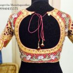 Iconic Gold Plated Bridal Blouses from Anjaz