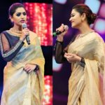 The Classic Saree Look You Can Try From Mamtha Mohandas