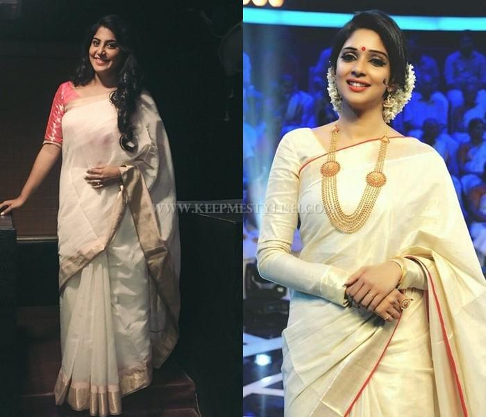50 Pretty Kerala Saree Blouse Designs Keep Me Stylish