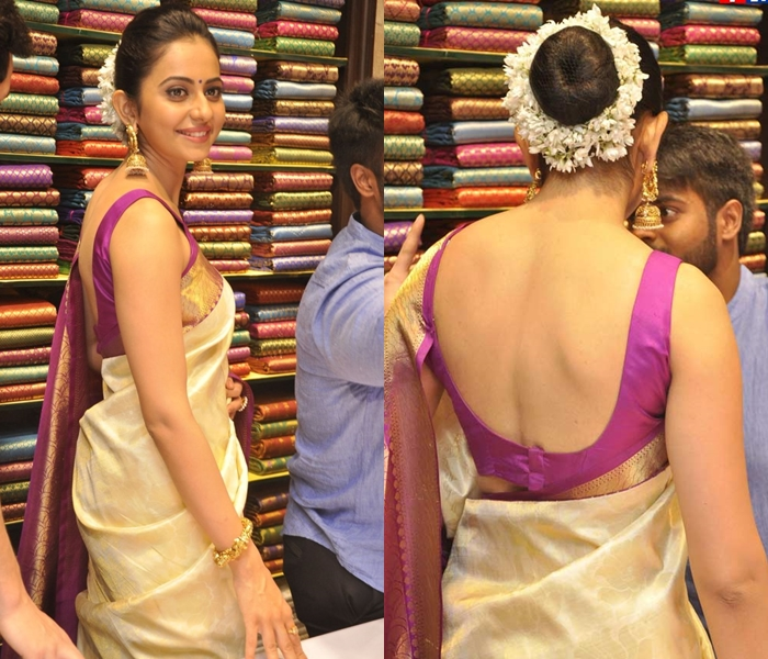 Traditional Hairstyles For Sarees