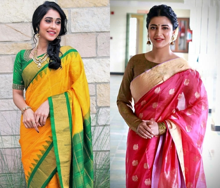 10 Most Flattering Traditional Hairstyles For Sarees Keep