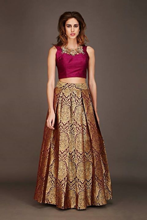 Dresses Made From Sarees