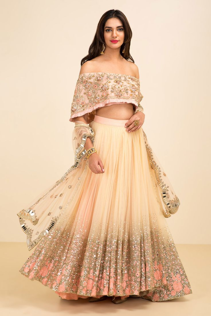 High Waisted Lehenga