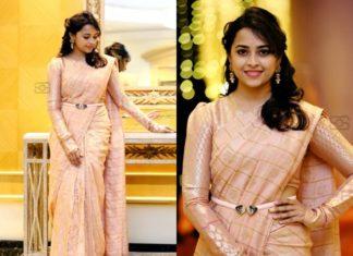 How to wear silk saree in stylish way