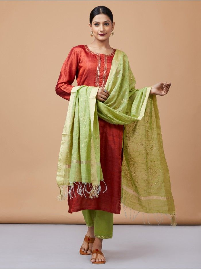 Latest Color Combinations for Churidars & Salwar Kameez