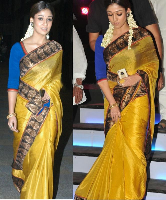 Nayanthara in Sarees
