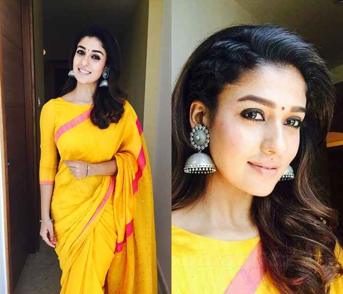 81809002db1969 Check Out Nayanthara s Best Saree Moments • Keep Me Stylish